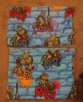 Kids Teenage Mutant Ninja Turtles Single Bedding