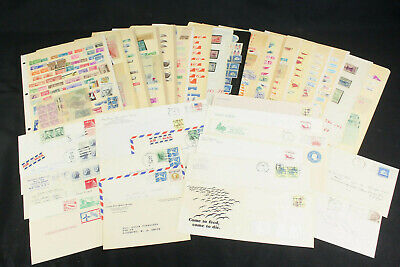 US Stamp Collection Lot Most Mint, MNH Singles, Blocks, Pairs, Coils, Tabs ++