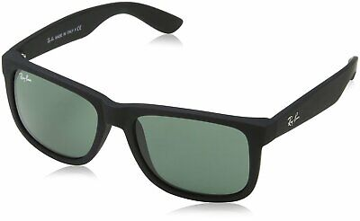 Ray-Ban RB4165 Sunglasses 601/71-55 - Black Frame, Green