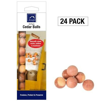 Cedar wood Moth Balls / Rings Repellent Poison Free Clothes Drawer 100% Natural