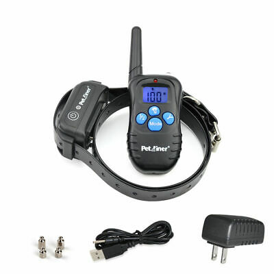 Petrainer Waterproof Remote Dog Training Collar Vibration Shock Electric 998DBB1