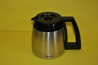 Cuisinart Grind & Brew DGB-600BC Replacement 10 Cup Stainless Coffee Carafe Pot