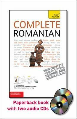 Complete Romanian with Two Audio CDs: A Teach Yourself Guide (TY: Language Guide