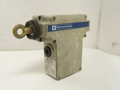179490 Used, Telemecanique XY2CE4A010H7 Grabwire Switch, 10A, 300V, SPDT-1NO