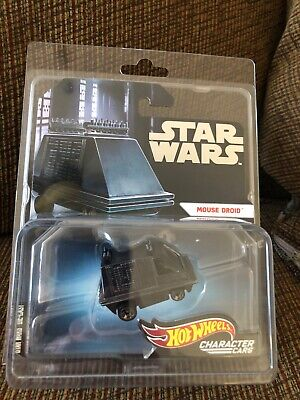 SDCC 2019 MATTEL HOT WHEELS STAR WARS MOUSE DROID CHARACTER DIE-CAST Comic Con