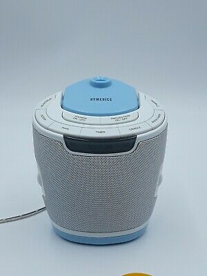 Homedics SS-3000 SoundSpa Lullaby Sleep Sound Machine & 3 Disc Projector w Tray