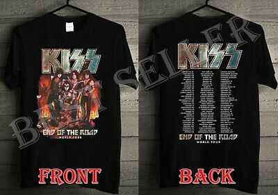 NEW Kiss End Of The Road Tour 2019 Preorder Official Merch T-Shirt FULL SIZE