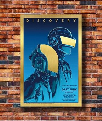 Daft Punk The Weeknd Discovery Starboy Art Print Silk 8x12inch Poster X-665