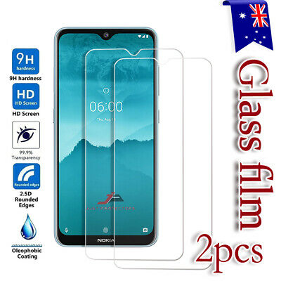 2X Nokia 2.2 3.2 4.2 Tempered Glass Screen Protector Scratch Resist Film Guard