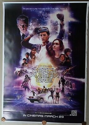 Ready Player One 2018 Original Double Sided Us Movie Ds Poster 27X40 Inch