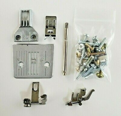 Brother LS-2220 Sewing ATTACHMENTS - Throat Plate, Foot, Spool, Feed Dog, Screws