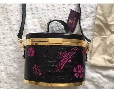 NEW With Tags Beautiful Liberty Of London Box Bag with detachable strap