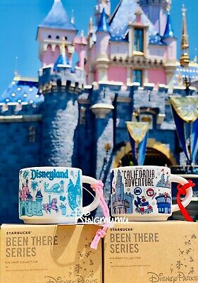 Disneyland Disney California Adventure Starbucks Been There Mug Ornament 2oz Set