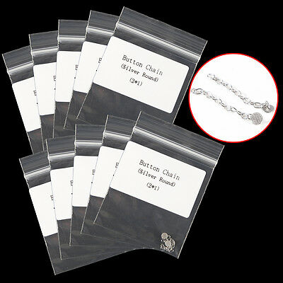 10 Dental Orthodontic Traction Chain Round Mesh Base Lingual Buttons 10 packs
