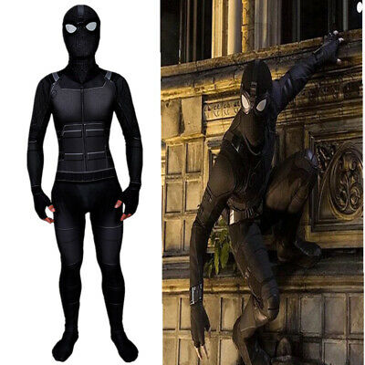 Spider-Man Far From Home Jumpsuit Zentai Stealth Suit Adult Kids Cosplay Costume