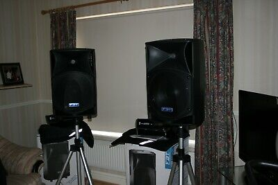 FBT ProMaxX 14a 900W Processed Active Speakers x2 speakers