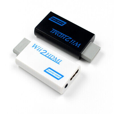 WII to HDMI 3.5mm Stereo Audio Jack 1080P HD Audio Output Converter Adapter