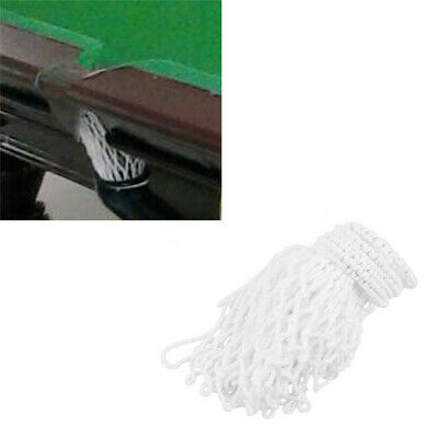 6 Count Pool Snooker Billiard Table Thread Bags Mesh Nets Pockets Cotton T
