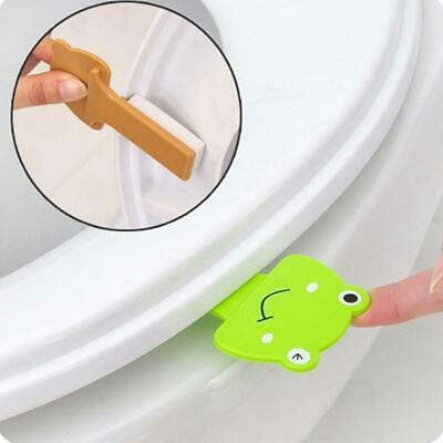 Sanitary Toilet Seat Cover Lifter Handle Cartoon Style Hygienic Clean Lift LA