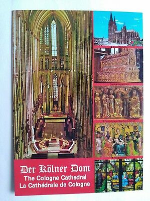 Postcard Der Kolner Dom The Cologne Cathedral (Multiview) Z124