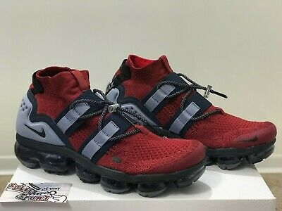 Nike Vapormax Utility FK Flyknit Red Blue USA Olympics AH6834 600 Air Max Mens