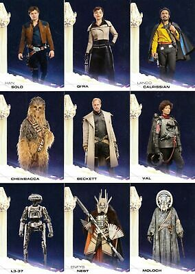 Star Wars - Solo Story of - Complete Card Set (100) 2018 - NM