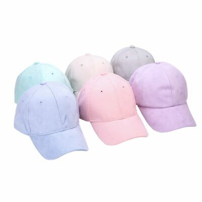 Adjustable Unisex Baseball Cap Blank Plain Solid Sport Visor Sun Golf ball Hat