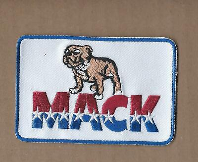 New 2 3/4 X 4 Inch Mack Trucks Iron On Patch Free Shipping