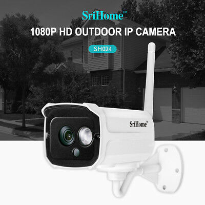 1080P Wifi FHD 2MP IP Kamera Überwachungskamera Wireless CCTV Funk IP Camera NEU