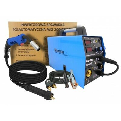 SET VARIATIONS Sherman Speedy 200 Device Welding machine MIG MAG + Accessories