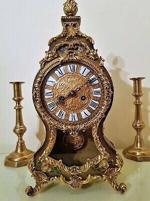 French Boulle Style Bracket / Mantel Clock.