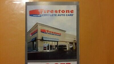 Firestone complete Auto Care - 4 coupons - savings up to $50 - read description