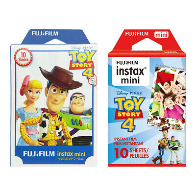 2 Packs 20 Photos Toy Story 4 FujiFilm Fuji Instax Mini Film Polaroid 7S Liplay