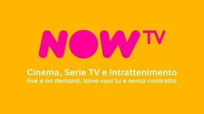 Account Now Tv 14 Giorni Gratis Privato Cinema,Serie Tv E Intrattenimento