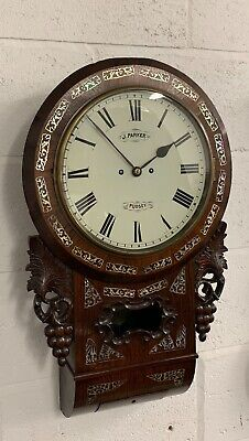 Double Fusee Drop Dial Wall by Parker of Pudsey Circa.1860