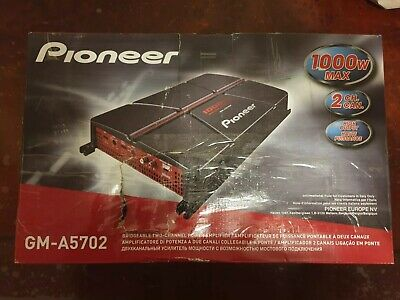 Pioneer GM-A5702 - 2/1-Channel Bridgeable Car Amp Amplifier with Bass Boost