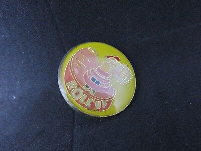 PIN'S PINS BONBONS CHEWING GUM ROLL UP SWEETS + attache
