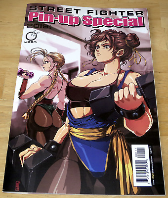 Udon Entertainment STREET FIGHTER PIN-UP SPECIAL #1 June 2019 COVER A