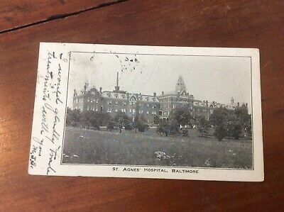 Postcard Private Mailing Card St Agnes Hospital Baltimore Maryland