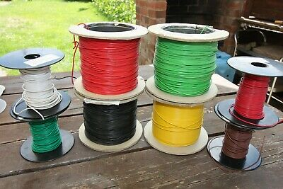 Equipment Wire 16/0.2  -  8  Assorted reels