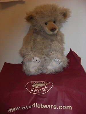 CHARLIE BEAR 2010 YEAR BEAR with tags and bag