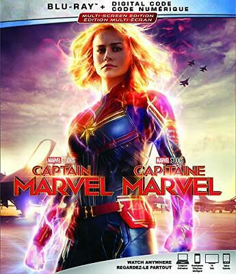 Captain Marvel (Blu-ray, AND DIGITAL HD 2019)