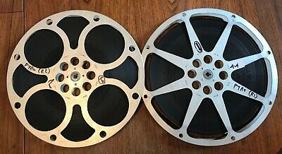 """Very Rare Vintage 16mm Cine Film """"Pyro Thing Without a Face"""" Horror 1964 3 Reels"""