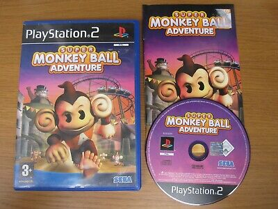 Super Monkey Ball Adventure - Sony PS2 Playstation 2 (PAL) Game