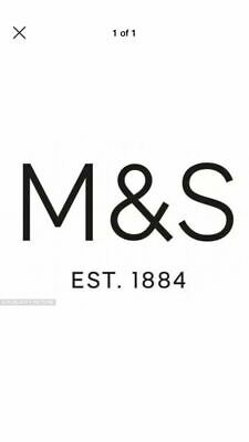 M&S Marks And Spencer Credit receipt / Voucher £124.00