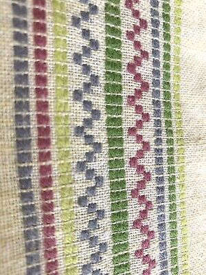 Mid Century Scandinavian Table Cloth Tablecloth Linens Woven Cotton Pale Yellow