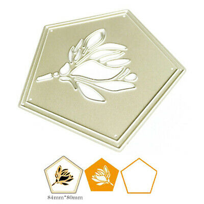 Flower Frame Metal Cutting Dies Stencil for DIY Scrapbooking Paper Cards Deco SY
