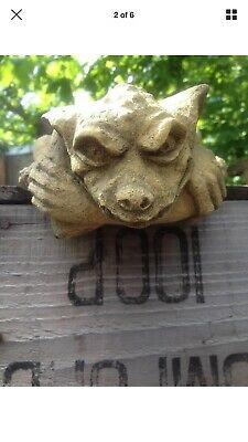 Gargoyle Cliffhanger Type mould latex garden ornament mould, Gothic