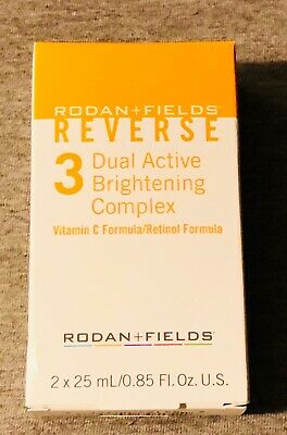 Rodan and Fields Reverse Step 3 Dual Active Brightening Complex NEW/SEALED