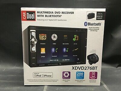 DUAL CAR 6 2 Multimedia DVD Receiver with Bluetooth and Remote